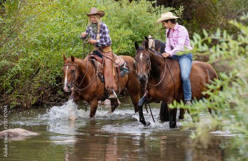 Photo Horseback Riding in Creek