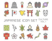 日本のアイコン 文化...
