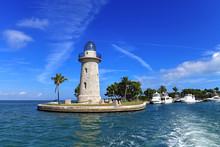 Lighthouse In Biscayne National Park, Florida