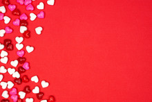 Valentines Day Side Border Of ...
