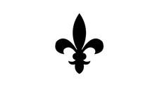 Fleur De Lis Heraldic Icon. I...