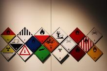 Hazardous Symbols. Transportat...