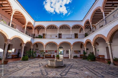 Town Hall in Zafra, province of Badajoz, Extremadura, Spain