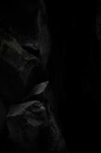 鍾乳洞の岩肌