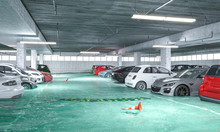 3d Render Image Of A Flooded U...