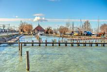Balaton Lake At Fonyod