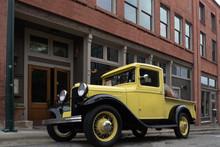 Old Yellow Truck And Brewery, Ashfield, North Carolina