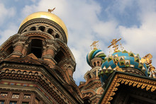 The Colorful Onion Domes Of Th...