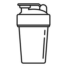 Sport Shaker Icon. Outline Spo...