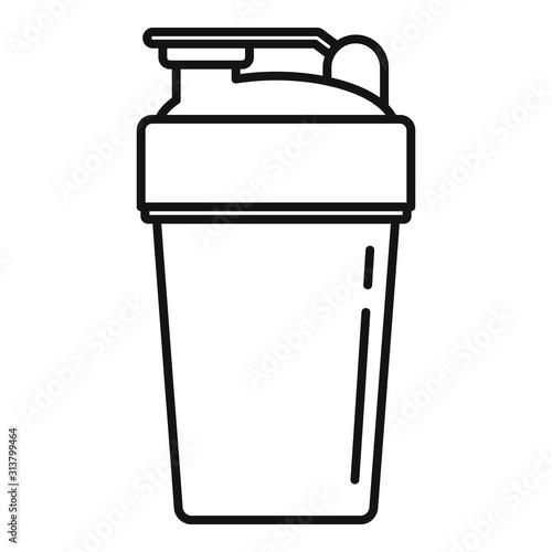 Canvas Print Sport shaker icon