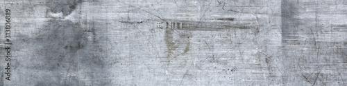 Fototapeta scratched metal texture for background. obraz