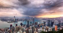 Hong Kong Panorama - Dramatic ...