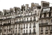 Hausmann Buildings In Paris (S...