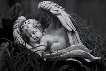 The Statue Of The Angel Sleepi...