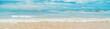 canvas print picture - Indian Ocean. Sri Lanka Beruwala Beach. Selective focus.