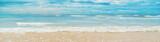 Fototapeta Fototapety z morzem do Twojej sypialni - Indian Ocean. Sri Lanka Beruwala Beach. Selective focus.