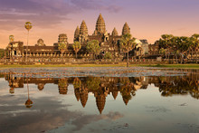 Famous Temple In Cambodia Asia