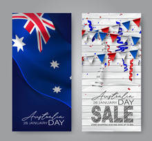 Happy Australia Day Vertical B...