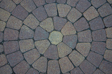 Sidewalk Tiles Laid Out From T...