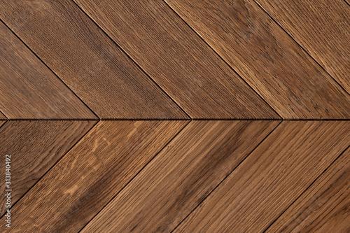 Obraz Close-up on hardwood floor parquet - fototapety do salonu
