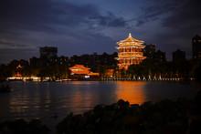 Night View Of Xi'an Datang City