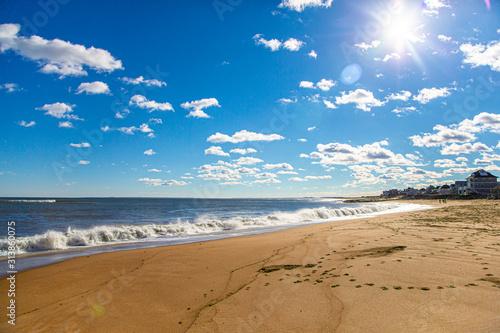 Carta da parati Beach view of Salisbury State Reservation, Massachusetts