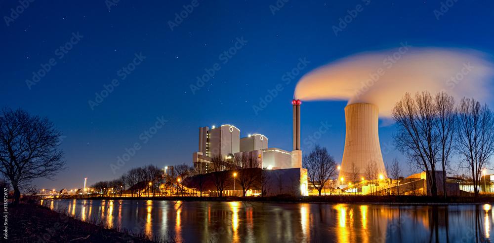 Fototapeta Kraftwerk Hannover Stöcken