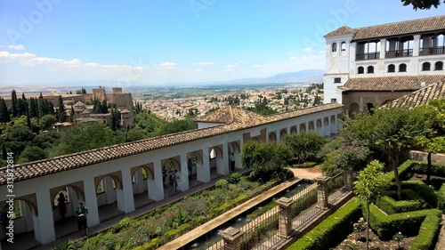 Granada panorama Wallpaper Mural