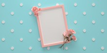 Pink Girly Frame Card For Text...