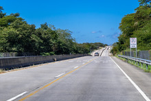 Costa Rica. Modern Highway.