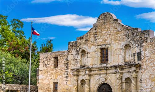 Alamo Mission Independence Battle Site San Antonio Texas Wallpaper Mural