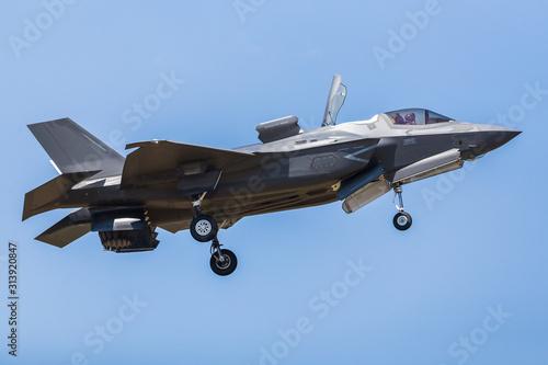 RAF F-35B stealth fighter Tablou Canvas