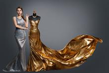 Woman Evening Dress, Fashion G...