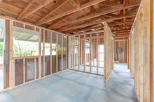 Interior Construction Home Remodel Framing Project