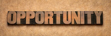 Opportunity Word Abstract In W...