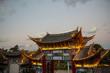Leinwanddruck Bild Ancient house in Dali city, Yunnan province, China