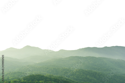 beautiful-scenery-foggy-mountains-and-forest-hill-landscape-with-silhouettes-isolated-on-white-background
