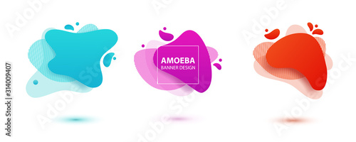 Photo Amoeba liquid design