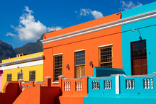 Colored Houses In Bo Kapp, A D...