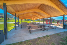 Park Pavilion Playground And B...