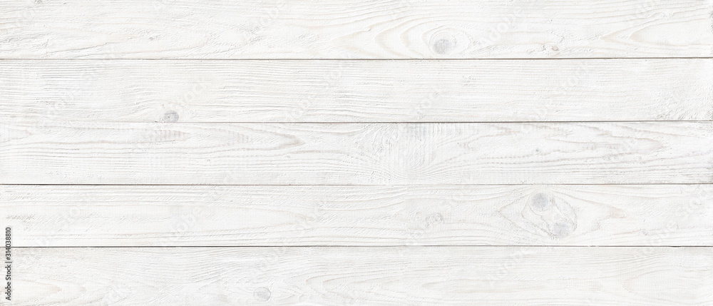 Fototapeta wood texture, old wooden board pattern, white copy space