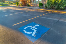 Handicapped Parking Space At A...