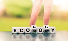 Economy Versus Ecology. Finger...