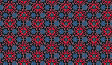 Kaleidoscope Effect Pattern Ba...