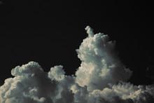 A Mass Of White Cumulonimbus I...