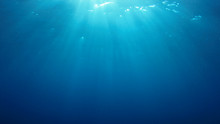 Underwater Blue Background In ...