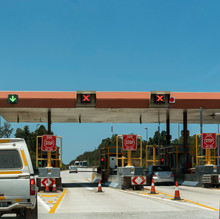 Stormsrivier, Eastern Cape, South Africa. December 2019. Toll Gate On The N2 Highway At Stormsrivier Close To The Tisitsikamma National Park, South Africa
