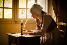 Vermeer Woman Writing Letter