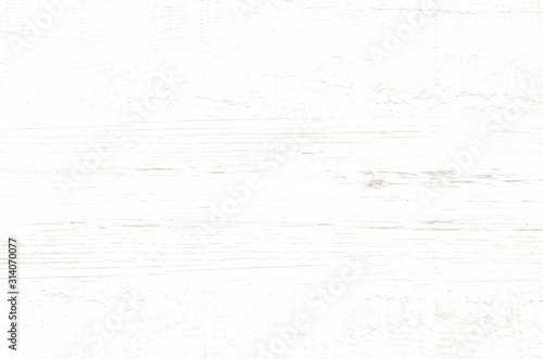 Fototapety, obrazy: White wood plank texture for background.