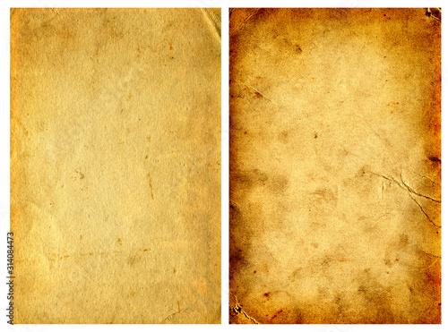 Fotografie, Obraz Two Vintage Papers